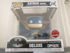 GAMESTOP EB GAMES EXCLUSIVE Funko Pop! Deluxe DC BATMAN ON GARGOYLE Jim Lee Hush
