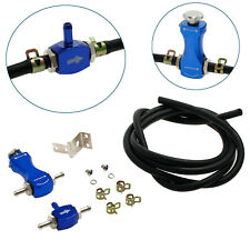Turbo Manual Boost Controller Universal Car Turbocharger Boost Bleed Valve Blue