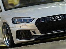 1:18 Tuning Audi RS5 Sportback - White Metallic Edition + BBS Alufelgen = OVP