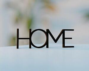 Home Schriftzug | Schwarz