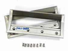 "Agilent HP Agilent 5061-0090 Front Handles 4U, 177.0mm, 7"" H  Olive Green Silver"