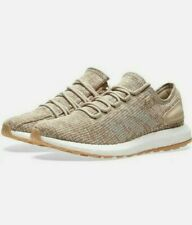 Men's Adidas Pureboost Boost Running Sneakers Shoes Khaki S81992 Size 11.5
