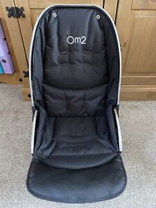 BABYSTYLE OYSTER OYSTER 2 AND MAX UPPER MAIN SEAT Unit Black Cleaned