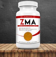 ZMA - Zinc - Magnesium - Vitamin B6 - Testosterone Booster - 180 Capsules