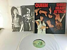 Queen Sheer Heart Attack #7E-1026: Vinyl Lp Record Elektra 1974 W Insert