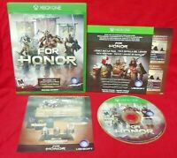 For Honor - Microsoft Xbox One Game - Tested ! XBOX 1 - Complete Works Tested !