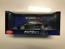 1/18 AUTOart Honda Acura Integra Type R 2002 Black Japanese RHD version
