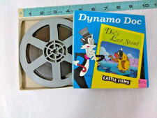 "VINTAGE 8mm Dynamo Doc ""Doc's Last Stand"" Castle Films Color Cartoon Sound Film"