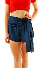 Free People Women's Extreme Solid Wrap Short Sapphire Size 4 RRP £69 BCF68