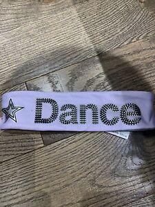 NWT Justice Purple Dance Headband Star