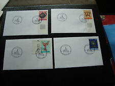 FRANCE - 4 enveloppes 4/1/1995 (cy45) french