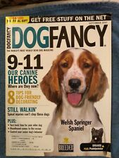 Dog fancy Welsh Springer spaniel September 2002 excellent condition .
