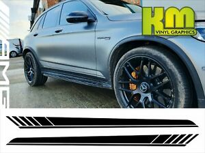 Mercedes GLC Edition 1 Style Side stripe Decal graphics - AMG