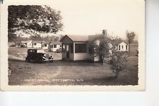 Putnam Real Photo Postcard Comfort Cabins West Campton  NH