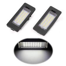 FOR BMW E90 M3 E92 E70 E39 F30 E60 E93 24 LED NUMBER PLATE LIGHT LAMP PAIR