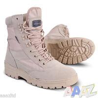 Kombat Desert Army Combat Patrol Boots Cadet Tactical Military Security Work Tan