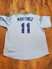 Nike Cooperstown Collection Seattle Mariners Edgar Martinez #11 Jersey Size L
