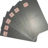 5pcs 99.99% Pure Graphite Electrode Rectangle Plate Sheet Replacement Part Hot,