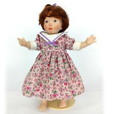 Franklin Mint Heirloom Days Of The Week Dolls Tuesday's Child By Sylvia Natterer