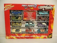 2005 - JOHNNY LIGHTNING - DIE CAST - PONY POWER 2 - NEW!!!