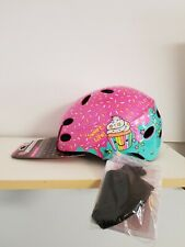 "Little Miss Matched Multi-Sport Helmet ""Sweet Helmet"" Pink Cupcake Girls Age 5+"