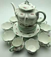 Vintage FINE BONE China HAND PAINTED 27 Piece Set Made in ENGLAND RNC0195