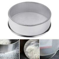 Stainless Steel Fine Mesh Oil Strainer Flour Colander Sifter Sieve Cake Baking