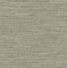 FD24119-Solstice Imitación Grasscloth Gris Wallpaper Fine Decor