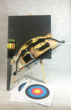 ASD Hawk Kids Compound Archery Bow and Arrow Starter Pack With Target * Black *