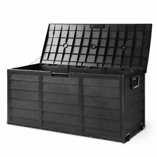 Gardeon 290L Outdoor Storage Box Container - Black