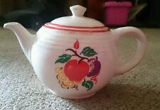 Cronin  Fine China- Tea Pot - COI44 Fruit with red trim pattern Vintage