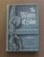 THE WATERS OF SILOE by Thomas Merton -1st/1st 1951 HCDJ  $3.00 - monk Trappist