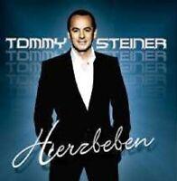 """TOMMY STEINER """"HERZBEBEN"""" CD NEW"""