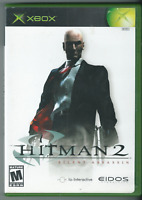 Hitman 2: Silent Assassin (Microsoft Xbox, 2002) (Complete w/ Manual) 🎮🎮🎮