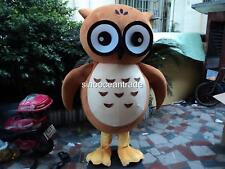Owl Mascot Costume Easter Animal Cosplay Party Fancy Dress Outfit Parade Adults