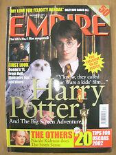 EMPIRE FILM MAGAZINE No 150 DECEMBER 2001 HARRY POTTER