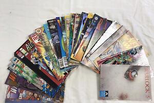 Indie/Manga Comic Lot Of 30 Books- Caliber,Aircel,Viz,Chix,NOW,Harris++$0.99 NR