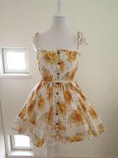 Liz Lisa Sunflower pattern Dress Lolita Hime Gyaru shibuya109 Very Cute (a235)
