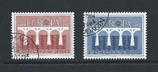 1984 FAROE ISLANDS Europa Set (Scott 106-107) Used