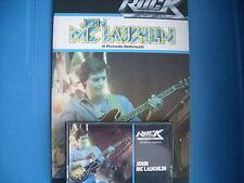 JOHN MC LAUGHLIN   MUSICASSETTA K7 TAPE++BOOK STORIA DEL ROCK