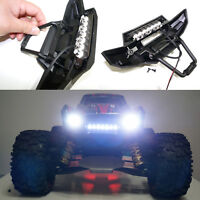 Front Bumper Headlight 7 LED Light Bar Kit for 1/5 Traxxas X-MAXXX XMAXX RC CAR