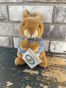 "Beatrix Potter Collection Peter Rabbit 8"" Stuffed Plush Animal Toy Eden Gift P5"
