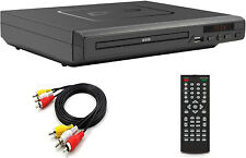 Compact HD DVD Player with Multi-Regions 1/2/3/4/5/6,USB Port, Remote Control