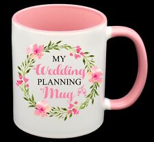 Engagement Gift Bride Wedding Planning Coffee Mug Cup Personalized Name