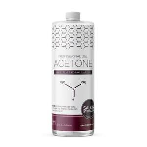 100% Pure Acetone Remove Gel Acrylic Nail Polish Remover (1 Litre) 1L