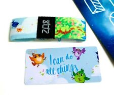 ZOX **I CAN DO ALL THINGS** Silver Strap med Wristband w/Card New Mystery Pack