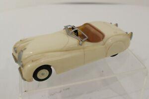 Vintage 1948 Jaguar Aurora 1:43 1960's Built Model Kit Junkyard Need Repair