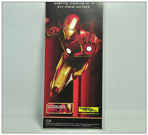 IRONMAN Magnets character NEW Sealed condition