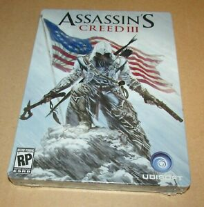 Assassin's Creed III Steelbook Case Only (No Game) Xbox 360 Playstation 3