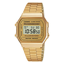 Casio Classic A-168WG-9WDF Illuminator Retro Digital Gold Watch
